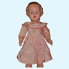 "27"" Big Celluloid German Cellba doll"