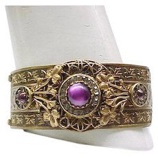 Show Stopper Buckle Bracelet - Elaborate Design
