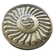 Sterling Silver Powder Compact - Rex Fifth Avenue