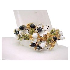 Rare and Beautiful Vendome Bracelet - Vines and Berries