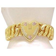 Pristine Pitman & Keeler Expansion Bracelet - American Queen
