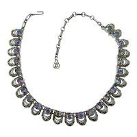 10 - Gorgeous Coro Aurora Borealis Rhinestone Necklace