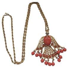 Phoenix Pendant Necklace - Vintage