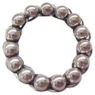 Danecraft Sterling Silver Circle Pin