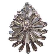 Luxurious Juliana Pin/Pendant - Pentagon Rhinestones