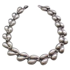 Heavy Danecraft Sterling Necklace - Pleasing Design