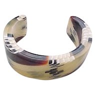 09 - Laminated Bracelet - Earth Colors - Small Wrist