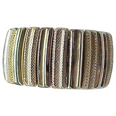 08 - Large Trifari Expansion Bracelet - Very Comfortable