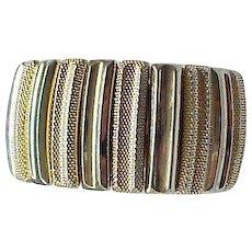 08 - Large Trifari Expansion Bracelet - Very Comfortable