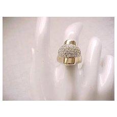 Fab Panetta Ring in Original Box - Size 6 3/4