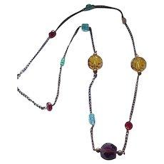 Gorgeous Czech Necklace - Glass Beads