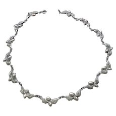 Iconic Danecraft Sterling Acorn Necklace