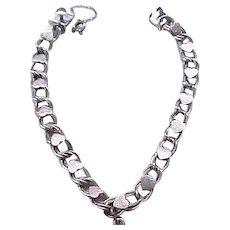 Lane Sterling Silver Starter Charm Bracelet - Hearts