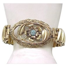 Unusual Lustern Sweetheart Expansion Bracelet