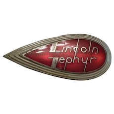 Lincoln Zephyr Hood Ornament