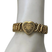 Carmen DFB Sweetheart Expansion Bracelet Heart Center