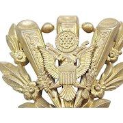 1930's/'40's Patriotic Eagle Pin