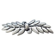 Lovely Danecraft Sterling Pin - Olive Branch