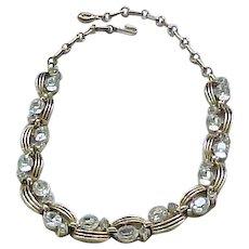 09 - Superb Lisner Diamante Rhinestone Necklace
