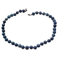 12 - Lovely Lapis Necklace