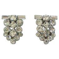 Diamante Rhinestone Duette - Dress Clips