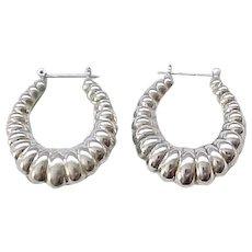 09 - Gorgeous Sterling Silver Earrings -Pierced Ears