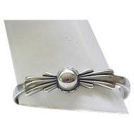 Native American Sterling Silver Bracelet