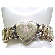 American Queen Sweetheart Expansion Bracelet - Pitman and Keeler