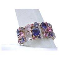 Gorgeous Wide Rhinestone Bracelet