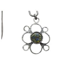 Awesome Denmark Pewter Necklace
