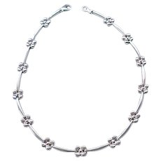 Beautiful Sterling Silver Milor Necklace