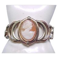 Superb Sweetheart Expansion Bracelet with Cameo - Phoenix Speidel
