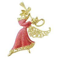 12 - Beautiful Angel Trembler Pin