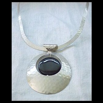Glorious Sterling Silver Necklace - Large, Impressive