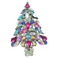 Avon Crhistmas Tree Pin - 2006 - Spectacular Colors -MIB