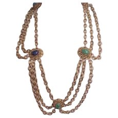 Spectacular Florenza Festoon Necklace - Must See