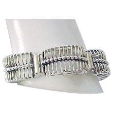 Outstanding Danecraft Sterling Bracelet - Modern Design