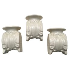 3 Classic Goebel Candle Holders Candleholders