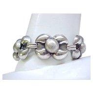 Impressive 900 Silver Bracelet - Made in Austria - Fine Workmanship