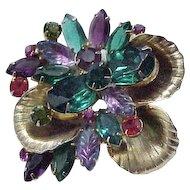 Spectacular Juliana Pin, Earrings - Metal Accents - Book Piece