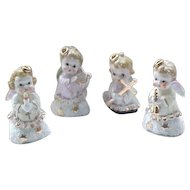 Sweet Angel Band - 4 Figures - 1950's
