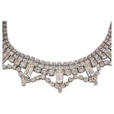 10 - Diamante Rhinestone Collar Style Necklace - So Beautiful!