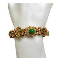 02 - Magnificent FLorenza Bracelet Victorian Design