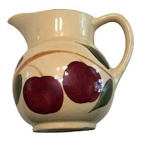Watt Pottery Double Apple #62 Pitcher