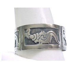 Marvelous Sterling Silver Bracelet - Early - 50 grams