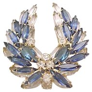 Multi Layered Juliana Pin, Earrings - Montana Blue