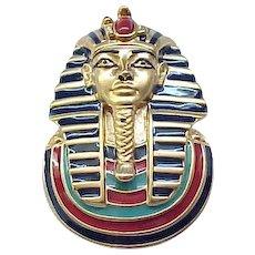 Jewels of Tutankhamen - King Tut - Complete Set of Six Pins Plus Box