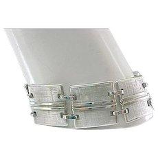 Van Dell Sterling Bracelet - Superb Design
