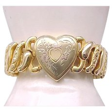 Sweetheart Expansion Bracelet - Tudor Bojar -  Gold Filled