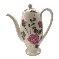 Blue Ridge Paper Roses Ovide Coffee Pot